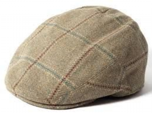 cb6cacee658 Failsworth Gamekeeper Tweed Flat Cap Style 1182